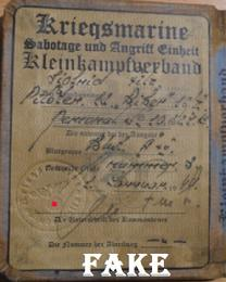 Nazi ID for sale