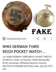 WW2 German Pocket Watch