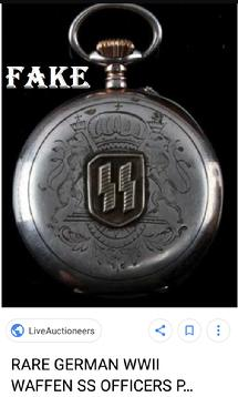 Nazi SS Pocket Watch