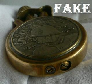 Fake Nazi Watches, nazi fakes, ebay fakes, ebay fraud, forgers on ebay, ww2 fakes