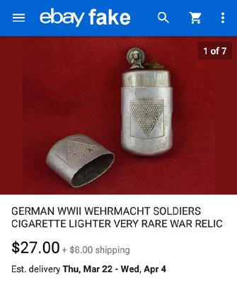 Fake WW2 Lighter
