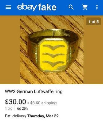 WW2 German Luftwaffe ring