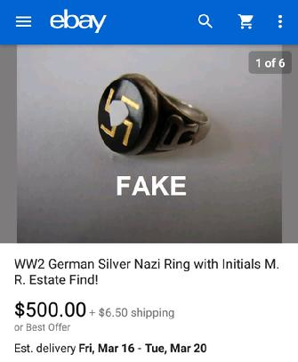 German WW2 Ring
