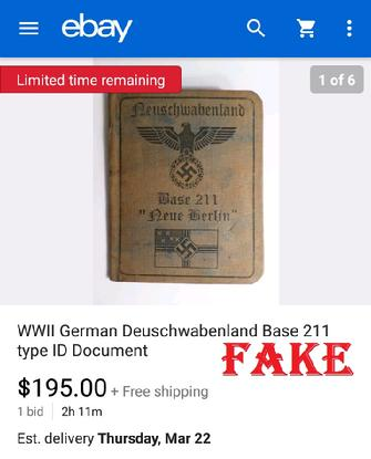 mph4cobra, nazi id, fake, ww2 fakes. germant. passbooks