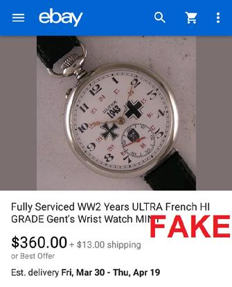 theoldwatchmaker, WW2 Years ULTRA French HI Grade Gents Wrist Watch MINT
