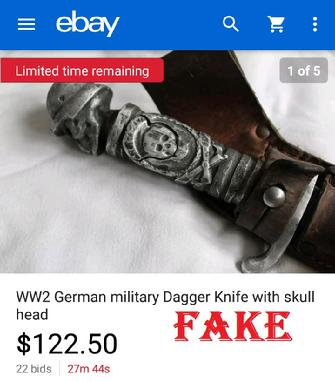 Nazi Fake Knife