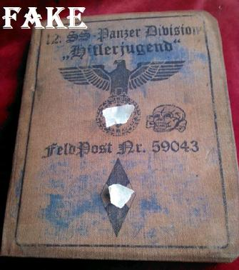 Fake WW2 German Passbook