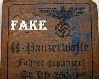 German- elite- Panzerwaffe- faher- gepanzert- id- document