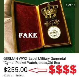Oldtownch fake nazi watches