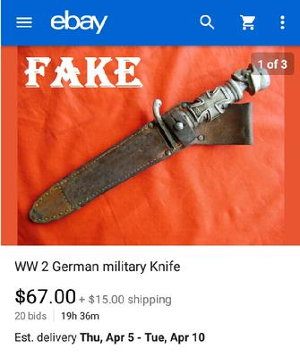 WW2 German Military Knife