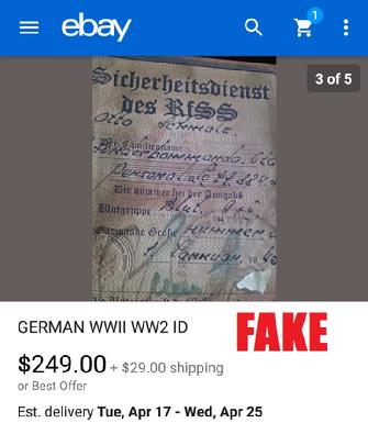 WW2 GERMAN ID