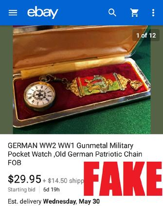 WW2 German Watch