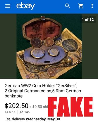 WW2 German Cigarette Case