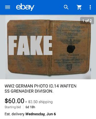 ww2 german military id book