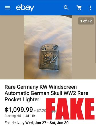 WW2 German Lighter