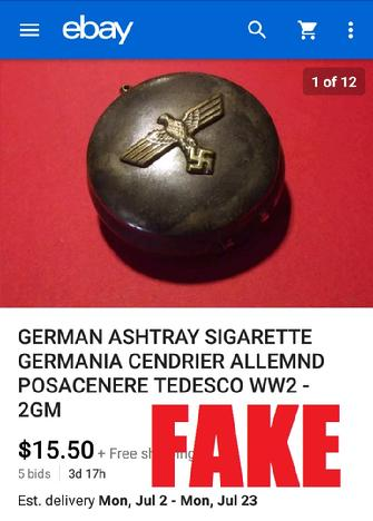 WW2 German Ashtray
