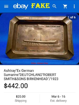 Fake Nazi Ashtray