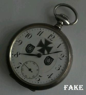 Fake Nazi Watch, ebay fraud, WW2 watch, jungens watch, pocket watch, fraud, scam
