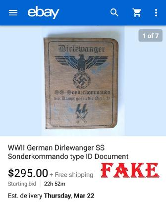 Fake ID, German, Passbook, mph4cobra, ebay