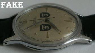 GERMAN WW2 Panzer Division Officer Military Wrist Watch