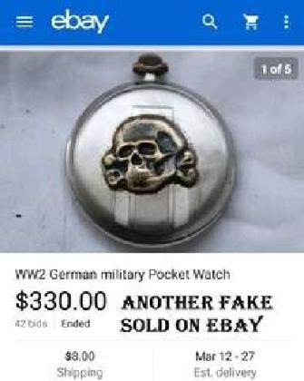 germanmilitarus fake nazi watch