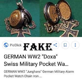 Nazi Pocket Watch