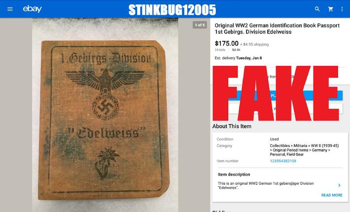 WW2 German Passbook