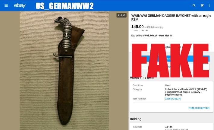 WW2 German Dagger