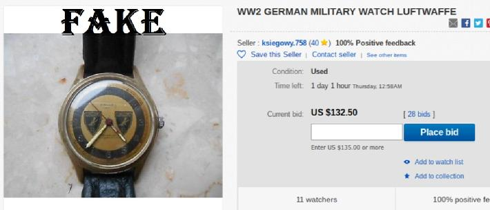 WW2 Wrist Watch